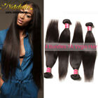 Indian Straight Hair Weave 4bundles 100% Unprocessed Human Hair Extensions Wefts
