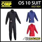 IA01904 OMP SPORT OS ONE-LAYER PROBAN FIRE PROOF OVERALLS MECHANIC SUIT PITCREW