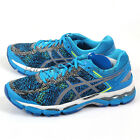 Asics Gel-Kayano 22 Lite-Show Methyl Blue/Silver/Black Expert Running T5A1Q-4193