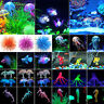 More images of Aquarium Artificial Silicone Seahorse Jellyfish Floating Glow Fish Tank Ornament