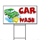 Car Wash Corrugated Plastic Yard Sign /FREE Stakes $15.99 USD on eBay