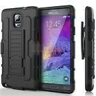 Hybrid Rugged Armor Shockproof Hard Case Kickstand Cover With Belt Clip Holster