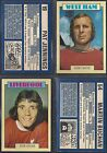 A&BC - FOOTBALL 1973 BLUE BACK (NUMBERS 226-250) PLEASE SELECT YOUR CARD