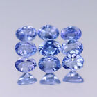 4x3mm Lot 1,2,6,10pcs Oval Cut Calibrated Natural Gem Violet Blue Tanzanite