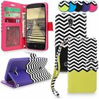 For ZTE Obsidian Z820 PU Leather Magnetic Flip Stand ID Card Holder Wallet Case