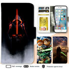 iPhone 8 7 Plus 6s X SE Case Star Wars Print Wallet Leather Cover For Apple 5s 4 $12.99 AUD