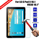 Premium Tempered Glass Screen Protector Film Guard For LG G Pad X 10.1 V930 10.1