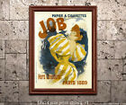 st.louis mills jobs - Jules Cheret - Job Cigarette - Vintage French Poster/Advertisment