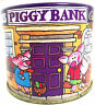 More images of Vintage Style Childrens Cadburys Dairy Milk Buttons Piggy Bank Savings Tin