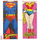 Adult Single Novelty/Character Sleeping Bag - BNIP - Wonderwoman Super Man