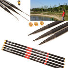 Telescopic Freshwater Hand Fishing Pole Strong Carbon Fiber Fishing Rod 3.6/6.3m