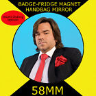 IT CROWD -DOUGLAS REYNHOLM - 58 mm BADGE-FRIDGE MAGNET OR HANDBAG MIRROR DVD1