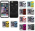 Skull Case +Silicone Cover Protector Case for iPhone 6s Plus/6 Plus $5.98 USD