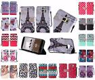 For Samsung Galaxy S7 Edge G935 Design PU Leather Bling Wallet Cover Case