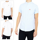 Brave Soul Senate Mens Shirt Short Sleeved Cotton Oxford Collared Button Up Top