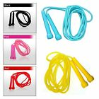 4Fit Plastic Skipping Ropes PVC Speed Jump Rope Fitness Exercise Workout Jumping image