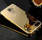 Metal Aluminum Mirror Luxury Case PC Back Case Cover Skin For Huawei Honor Phone