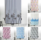 Colorful Fabric Shower Curtains Extra Long/Wide Bespoke 5 Different Sizes
