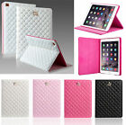 Smart Case Stand Cover Luxury Crown Leather for Apple iPad2 3 4 5 Air Air 2 mini