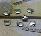 wholesale 40/200pcs Delicate and lovely Tibetan silver small charm pendant