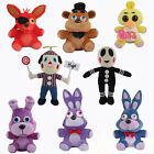 NEW 8Pcs Hot FNAF Five Nights at Freddy's Chica Bonnie Foxy Plush Doll Toy gift