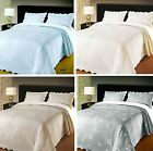 Jewels Embroidered Woven Floral Soft Touch Comfy Warm Bedspread Throw Or Sham