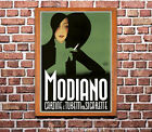 Modiano #2 - Vintage Travel Poster [4 sizes, matte+glossy avail]