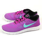 Nike Free RN (GS) Hyper Violet/Turquoise-Black-White Running Shoes 833993-500