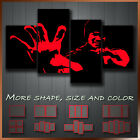 Bruce Lee Gongfu Icon Art Canvas More Color & Style & Size