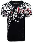 Konflic Nwt Men's Giant Fighter Skull Grapic MMA Muscle Shirts(S/#790)