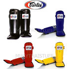 NTW Fairtex Shin Pads Muay Thai Kick Boxing SP3 Shin Guards MMA Training