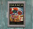 Oaxaca Mexico - Vintage Travel Poster