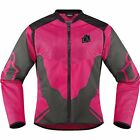 Icon Anthem 2 Women's Vented Textile Jacket Motorcycle Jacket