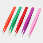 X-2 Narrow Fine Needle Pointed Eyebrow Facial Hair Removal Tweezers
