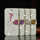 Kyпить Luxury Slim Leather Magnetic Flip Bling Wallet Cover Case For iPhone & Samsung на еВаy.соm