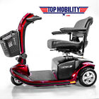 New Pride Mobility Victory 9 Electric Scooter 3-wheel Sc609 + Accessory Bundle