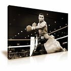 Mike Tyson Knockout Boxing Canvas Wall Art Picture Print 9 Sizes to Choose