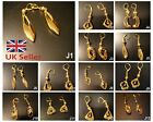 Gold plated color Earrings medium size Artificial Fashion Jewellery