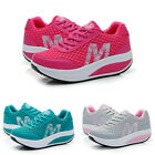 Women Mesh Inside Heighten Sneackers Running Sports Rocking Shoes US 4.5-8.5