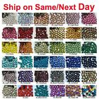 Внешний вид - 1440 pcs DMC Iron On Hotfix Crystal Rhinestones Colors SS6 SS10 SS16 SS20, 2-5mm