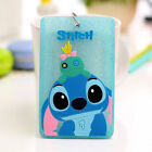 Cute Silicone Cartoon ID Card Holder Card Case Badge Necklace Neck Strap Lanyard