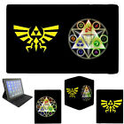 The Legend of Zelda Triforce Apple iPad 2 3 4 Mini Air Flip Folding Case Cover