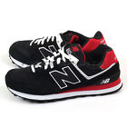 New Balance ML574CPA D Black & White & Red Classic Retro Lifestyle Shoes NB