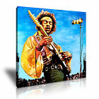 Jimi Hendrix Rock Modern Wall Art Canvas