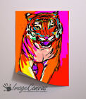 TIGER ART PRINT GIANT WALL ART POSTER A0 A1 A2