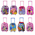 CHILDREN'S DISNEY & TV CHARACTER'S TROLLEYBAGS OFFICIAL LICENSED ITEMS BRAND NEW