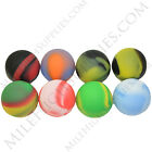 25 New 5ml NonStick Silicone Ball Jar Storage Container 8 Colors Mixed or Same!