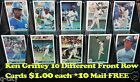 KEN GRIFFEY Jr. 1991 FRONT ROW Cards $1.00 Each _Choose 1 or More _ 10 Mail FREE