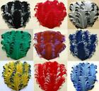 CURLY NAGORIE GOOSE FEATHER PADS: 38 Colors To Choose From!! Headbands/Bridal
