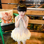 Vogue Baby Girls Toddler Party Princess Lace Tutu Kids Embroidery Flower Dresses
